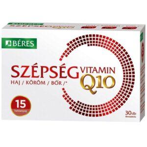 Béres Szépségvitamin + Q10 filmtabletta - 30db