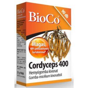 BioCo Cordyceps 400 Hernyógomba kivonat tabletta – 90db