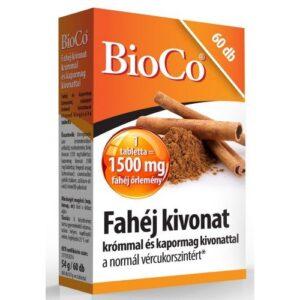 BioCo fahéj tabletta – 60db