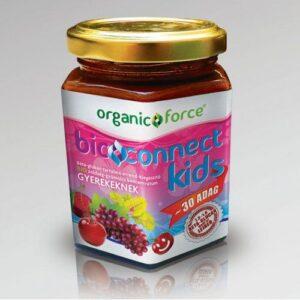 Bioconnect Kids szuperlekvár, béta-glükán tartalmú BIO gyümölcs-zöldség koncentrátum gyerekeknek – 210g