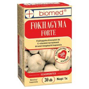 Biomed Fokhagyma forte kapszula - 30db