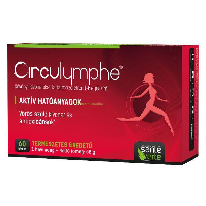 Circulymphe vérkeringést támogató tabletta – 60db