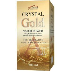 Crystal Gold Natur Power aranykolloid – 500 ml