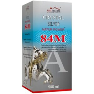 Crystal Silver Natur Power 84M – 500 ml