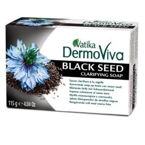Dabur Vatika DermoViva Black Seed tisztító szappan – 115g