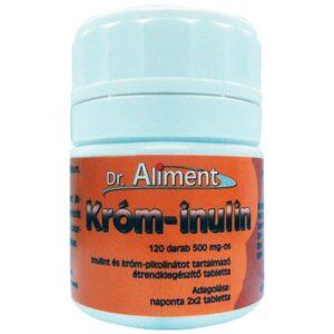 Dr. Aliment króm-inulin tabletta – 120 db