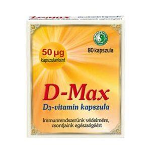 Dr. Chen D-max D3-vitamin kapszula – 80db