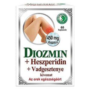 Dr. Chen Diozmin + Heszperidin + Vadgesztenye kapszula – 60db