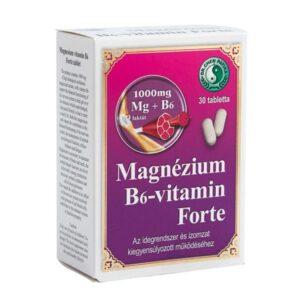 Dr. Chen Magnézium – B6-vitamin forte tabletta – 30db