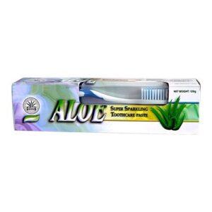Dr. Chen aloe fogkrém + fogkefe –