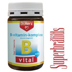 Dr. Herz B-komplex kapszula – 60db