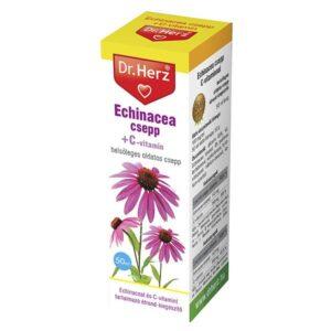 Dr. Herz Echinacea csepp C-vitaminnal – 50ml