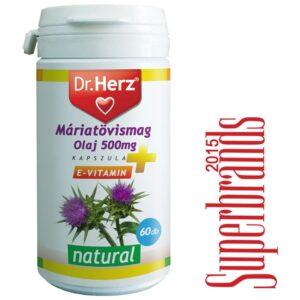 Dr. Herz Máriatövismag olaj kapszula – 60db