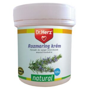 Dr. Herz Rozmaring krém – 125ml