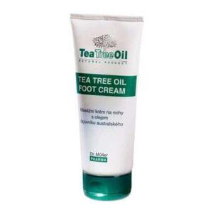 Dr. Müller Tea Tree Oil teafa lábápoló krém – 150 ml