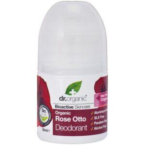 Dr. Organic Bio Rózsa golyós dezodor – 50ml