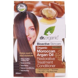 Dr. Organic bio Argán olaj regeneráló hajpakolás – 200 ml