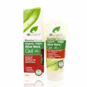 Dr. Organic bio aloe vera gél teafa olajjal – 200ml