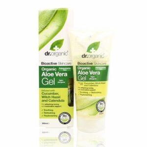 Dr. Organic bio aloe vera gél varázsmogyoróval – 200ml