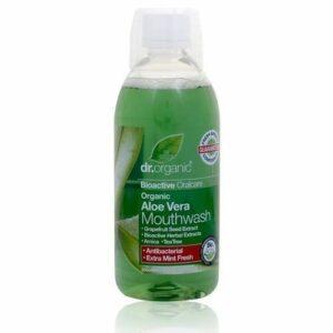 Dr. Organic bio aloe vera szájvíz – 500ml