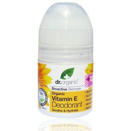 Dr. Organic bio e-vitaminos golyós dezodor – 50ml