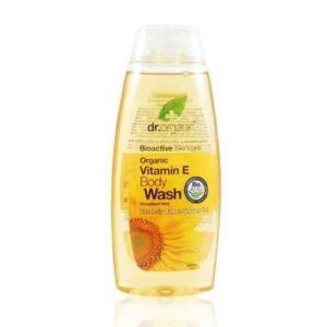 Dr. Organic bio e-vitaminos tusfürdő – 250ml