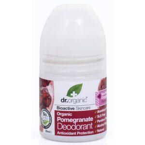 Dr. Organic bio gránátalma golyós dezodor – 50ml