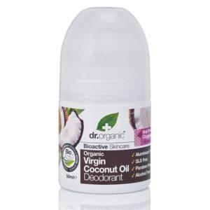 Dr. Organic bio kókuszolaj golyós dezodor – 50 ml