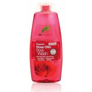 Dr. Organic bio rózsa tusfürdő – 250ml