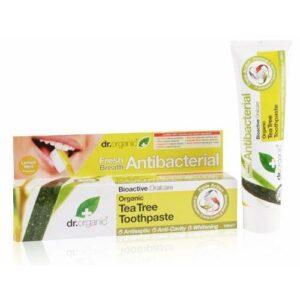 Dr. Organic bio teafa fogkrém – 100ml