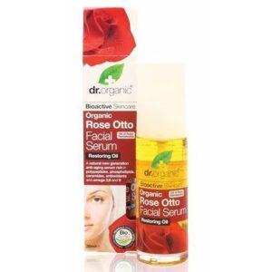 Dr. Organic rózsa arcszérum – 30ml