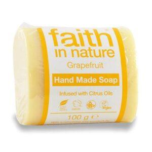 Faith in Nature Bio grapefruit szappan – 100 g