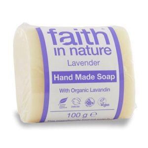 Faith in Nature Bio levendula szappan – 100g