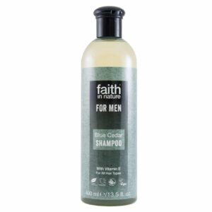 Faith in Nature Kék Cédrus sampon férfiaknak – 400ml