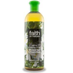 Faith in Nature kender és tajtékvirág tusfürdő – 400 ml