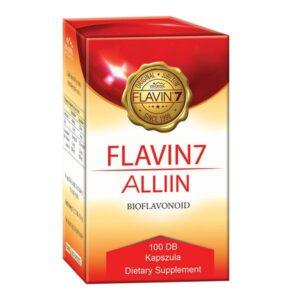 Flavin7 Alliin – bioflavonoid komplex + fokhagyma – 100 db kapszula