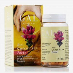 Gal bio curcumin+ forte kapszula - 60db