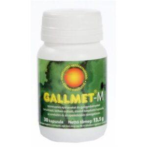 Gallmet-M kapszula – 30 db