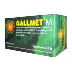 Gallmet-M kapszula – 90db