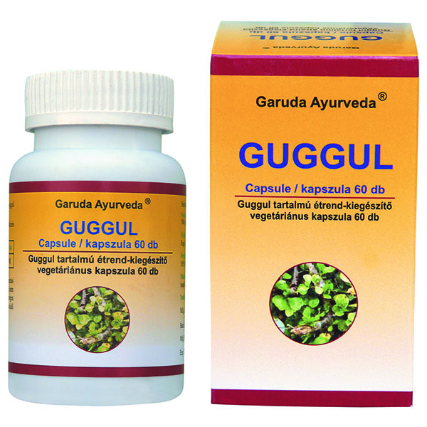 Garuda Ayurveda Guggul vegán kapszula – 60db