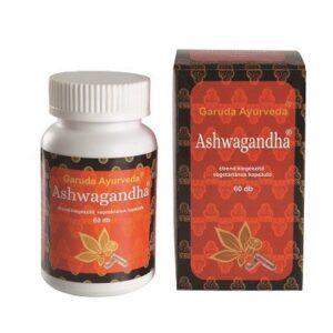 Garuda Ayurveda Ashwagandha vegetáriánus kapszula – 60db