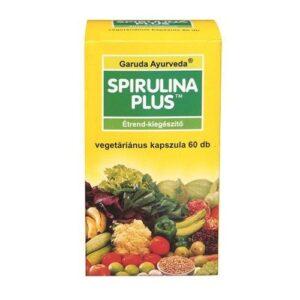 Garuda Ayurveda Spirulina Plus vegán kapszula – 60db