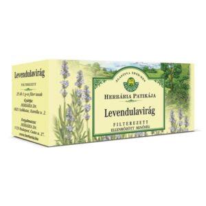 Herbária levendulavirág tea - 25x1g filter/doboz