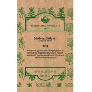 Herbária medveszőlőlevél tea - 40g