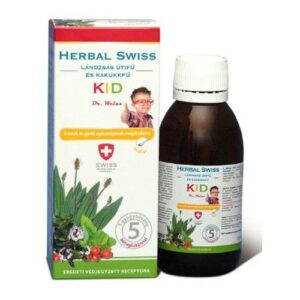 Herbal Swiss Kid köhögés elleni szirup – 150ml