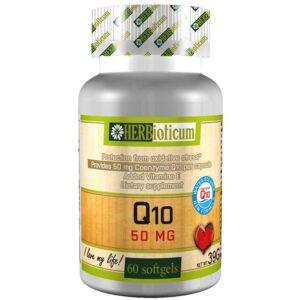 Herbioticum Q10 50mg vízzel elegyedő formula lágykapszula – 60db