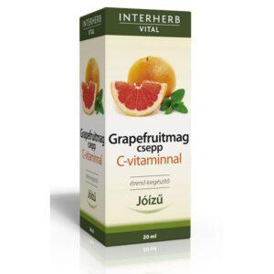 Interherb Grapefruitmag csepp C-vitaminnal – 20ml