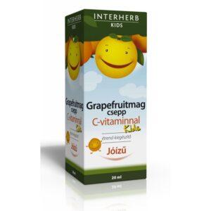 Interherb Grapefruitmag csepp KIDS C-vitaminnal – 20ml