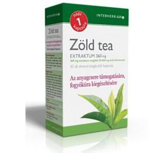 Interherb zöld tea kapszula – 30db
