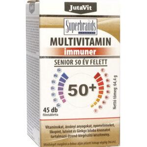 Jutavit Multivitamin Senior 50+ tabletta - 45db